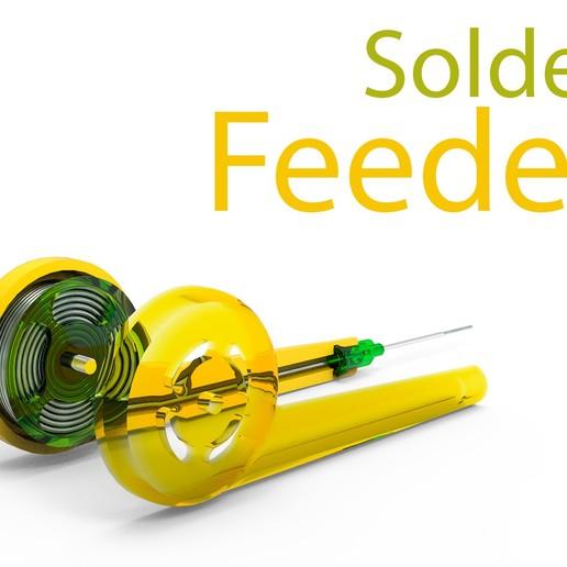 233.jpg Download free STL file Solder feeder • 3D printable design, Ruvimkub