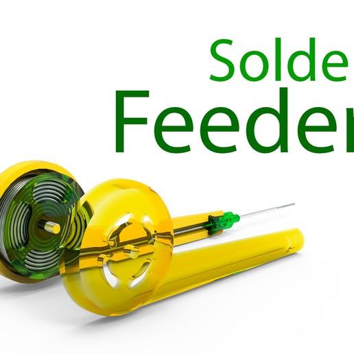 23456.jpg Download free STL file Solder feeder • 3D printable design, Ruvimkub