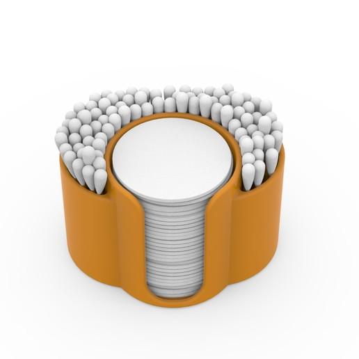 APC_034108_2.jpg Télécharger fichier STL gratuit Support pour tiges et disques de coton • Modèle imprimable en 3D, Ruvimkub