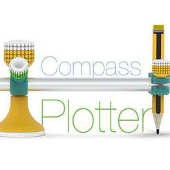 Download free STL file Compass - Plotter • 3D printer model, Ruvimkub
