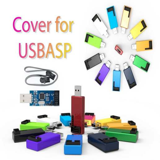 Download free STL file USBasb case • 3D printable design, Ruvimkub