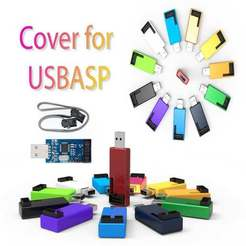 Descargar archivo 3D gratis estuche USBasb, Ruvimkub