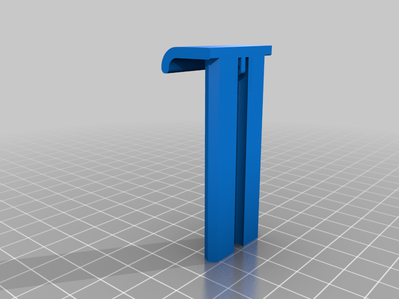 2.png Download free STL file Phone Clip. • 3D printer object, Ruvimkub