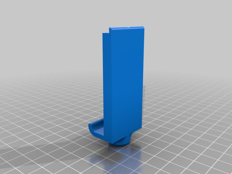 1.png Download free STL file Phone Clip. • 3D printer object, Ruvimkub