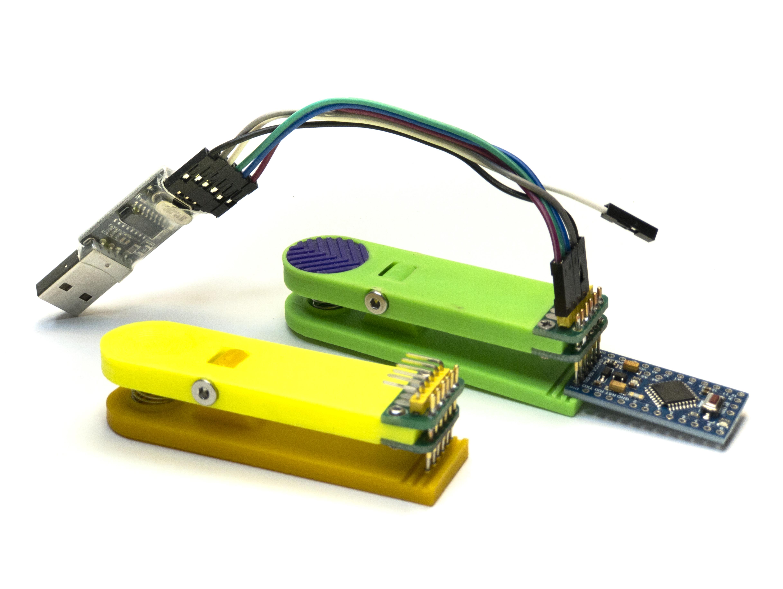 13.jpg Télécharger fichier STL gratuit Pince pour contrôleurs firmware 6 broches • Design imprimable en 3D, Ruvimkub