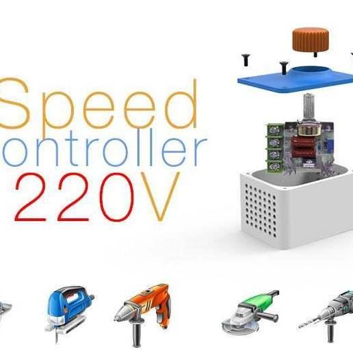 Download free STL file Speed Controller 220V • 3D print object, Ruvimkub