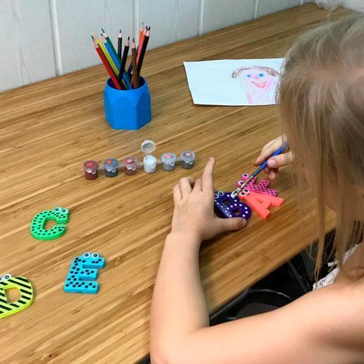 14.jpg Download free STL file Alphabet for children. K L M N O • Model to 3D print, Ruvimkub