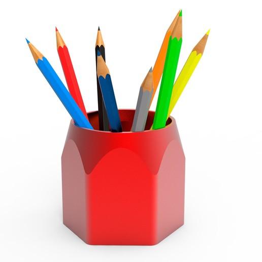 2.jpg Télécharger fichier STL gratuit Pot à crayons • Design pour imprimante 3D, Ruvimkub