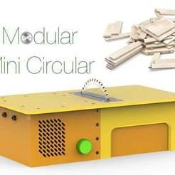 Download free STL file Mоdular Mini Circular • 3D printable template, Ruvimkub