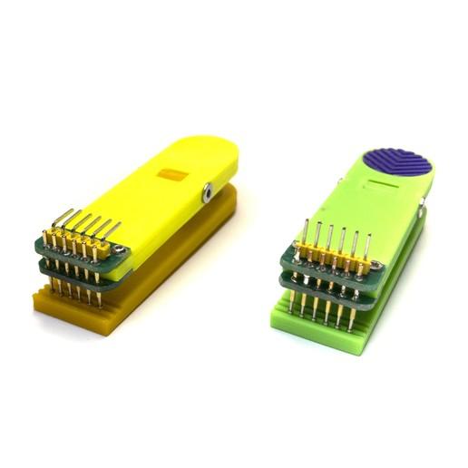 19.jpg Télécharger fichier STL gratuit Pince pour contrôleurs firmware 6 broches • Design imprimable en 3D, Ruvimkub