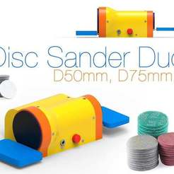 Download free STL file Disc Sander Duo. D50mm, D75mm, Ruvimkub