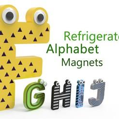 Télécharger STL gratuit Alphabet pour enfants. F G H H I J J, Ruvimkub