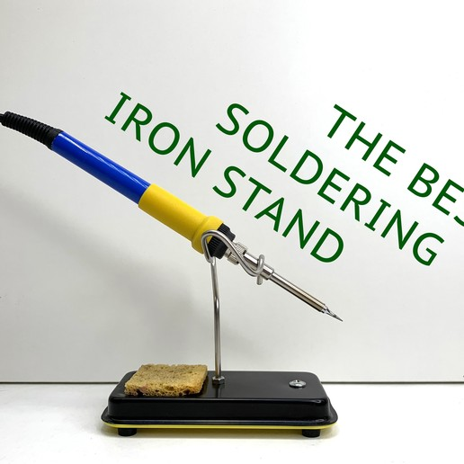 Download free STL file The best soldering iron stand • 3D printing template, Ruvimkub