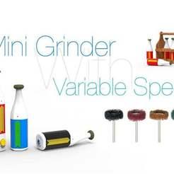 Download free 3D printing templates Mini Grinder, Ruvimkub