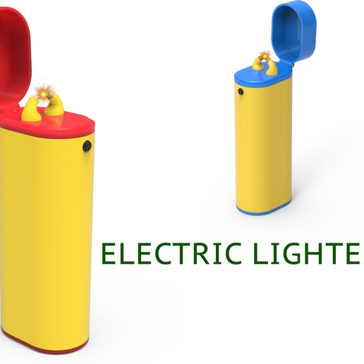 343.jpg Download free STL file Electric lighter • Template to 3D print, Ruvimkub