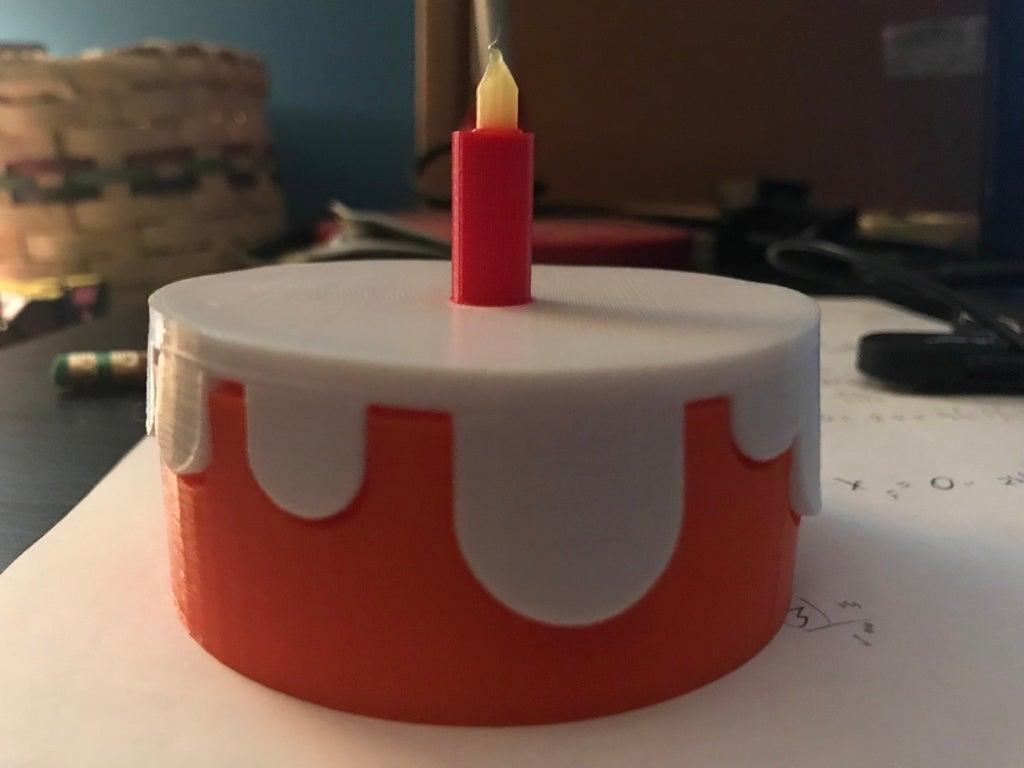 IMG_3875[1.JPG Télécharger fichier STL gratuit Gâteau simpliste (multi-couleur) • Objet pour imprimante 3D, MakerMathieu