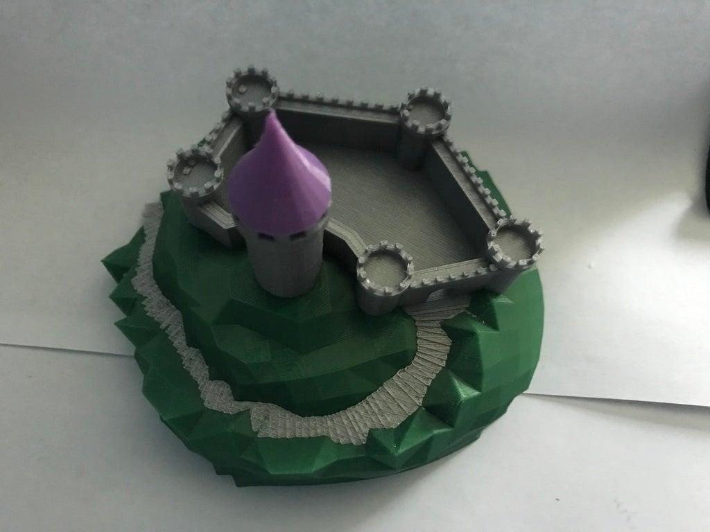 IMG_8975[1.JPG Télécharger fichier GCODE gratuit Castle Mountain ! (Multicolore/Multimatériau) • Modèle pour imprimante 3D, MakerMathieu