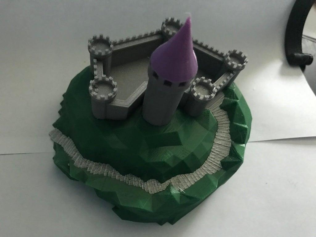 IMG_8976[1.JPG Télécharger fichier GCODE gratuit Castle Mountain ! (Multicolore/Multimatériau) • Modèle pour imprimante 3D, MakerMathieu