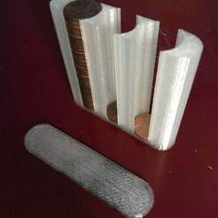 Download free STL Penny Holder (American), MakerMathieu