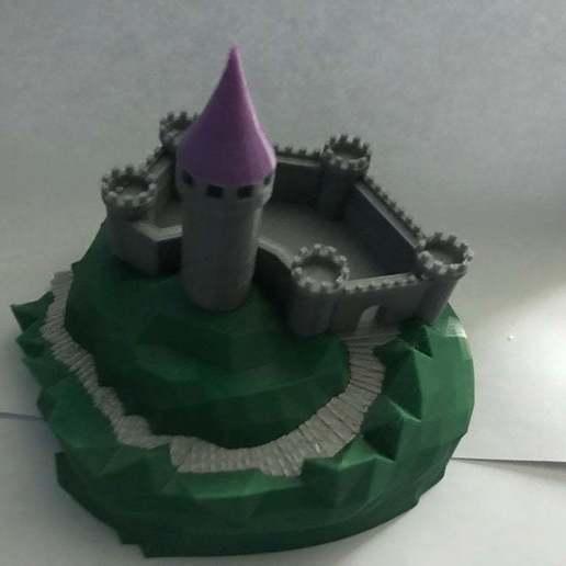 IMG_8973[1.JPG Télécharger fichier GCODE gratuit Castle Mountain ! (Multicolore/Multimatériau) • Modèle pour imprimante 3D, MakerMathieu