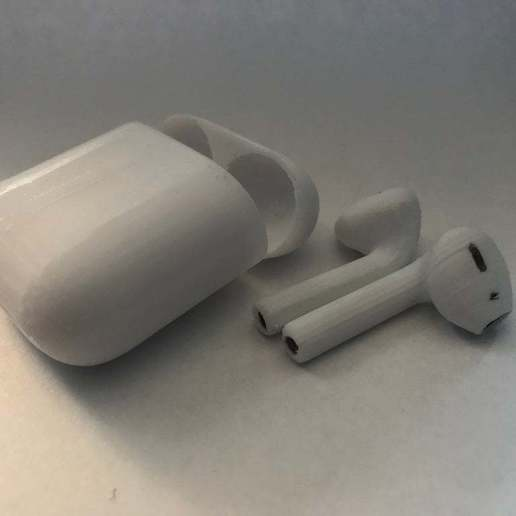 Download free STL file Fake AirPods • 3D printing object, MakerMathieu