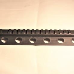 Download 3D printer templates MP5 Lower Rail for SEAL mod, atadam