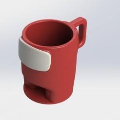 2.JPG Download STL file Among Us Cofee / Tea Mug • 3D printer design, atadam