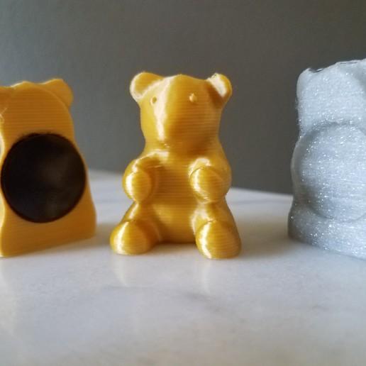 Télécharger fichier 3D gratuit Ours en peluche pour aimant, abbymath