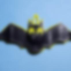 Download free STL files Bat Pendant, abbymath