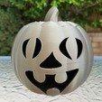 20201022_101754.jpg Télécharger fichier STL Visage drôle de la lanterne Jack-O'-Lanterne • Objet imprimable en 3D, abbymath