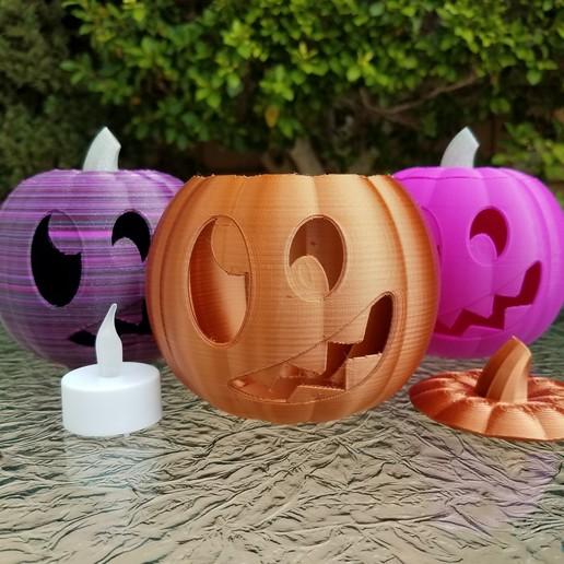 20201022_101333.jpg Download STL file Jack-O'-Lantern Silly Monster • 3D printing model, abbymath
