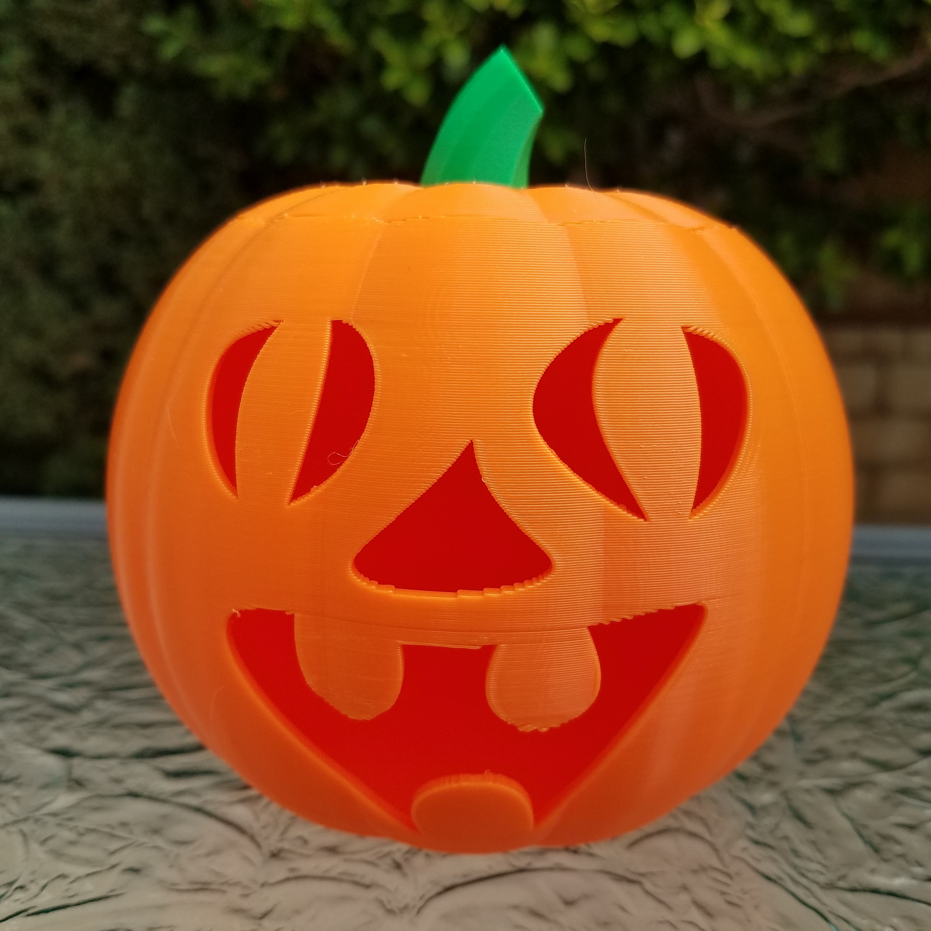 20201022_101700.jpg Download STL file Jack-O'-Lantern Funny Face • 3D printable design, abbymath