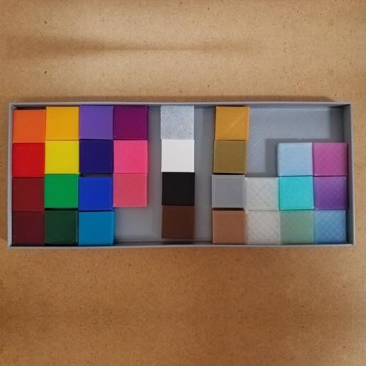 Download free 3D printer files Filament Chip Tray, abbymath