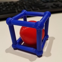 Download free 3D print files Ball in a Box, abbymath