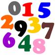 Happy Birthday Numbers.png Télécharger fichier STL Autocollants de bonne fête • Modèle pour impression 3D, abbymath
