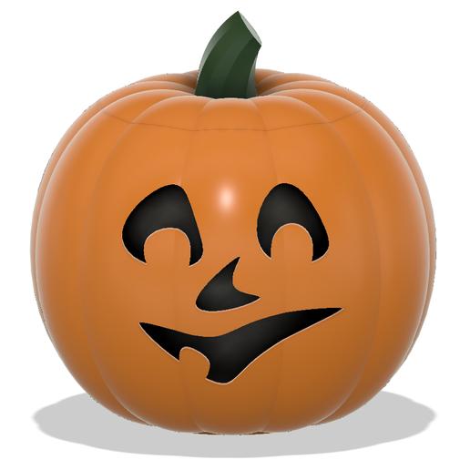 Jack-O-Lantern Smile Face Capture.PNG Download STL file Jack-O'-Lantern Smile Face • 3D printer design, abbymath