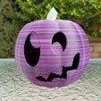 20201022_101301.jpg Download STL file Jack-O'-Lantern Silly Monster • 3D printing model, abbymath