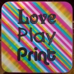 20200515_175907.jpg Download STL file Love Play Print • 3D printer model, abbymath