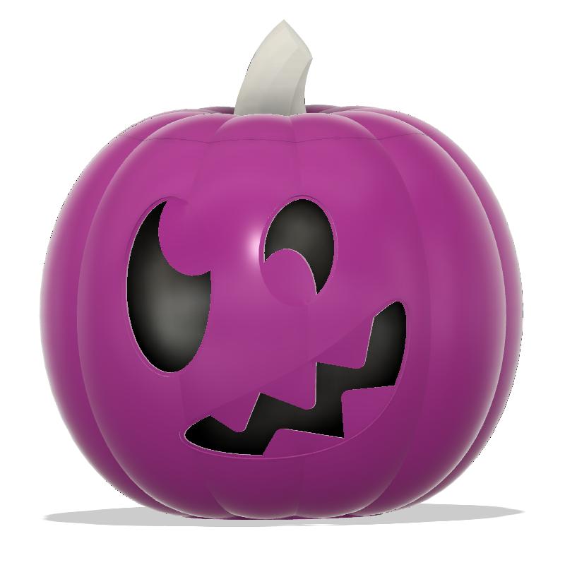 Jack-O-Lantern Silly Monster Capture.PNG Télécharger fichier STL Monstre Silly Jack-O'-Lanterne • Design à imprimer en 3D, abbymath