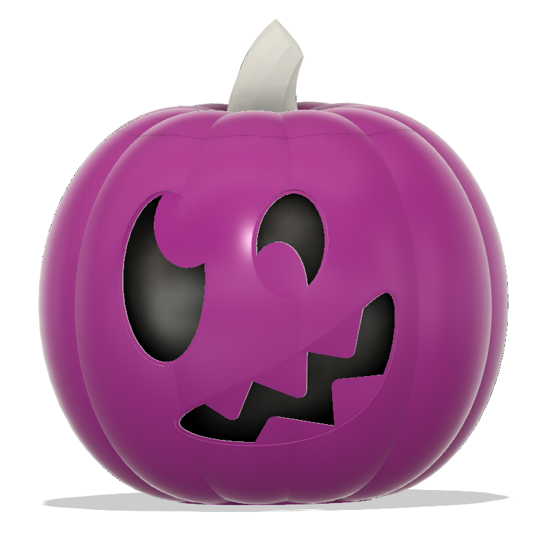 Jack-O-Lantern Silly Monster Capture.PNG Download STL file Jack-O'-Lantern Silly Monster • 3D printing model, abbymath