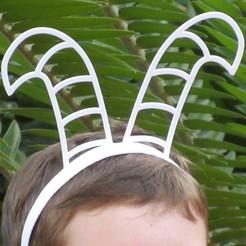IMG_6603 edit.jpg Download free STL file Billy Goats Headbands • 3D printing template, abbymath