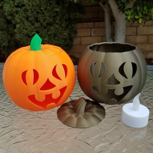 20201022_101915.jpg Télécharger fichier STL Visage drôle de la lanterne Jack-O'-Lanterne • Objet imprimable en 3D, abbymath