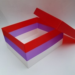 20200619_074706.jpg Download free STL file Gift Box with Lid • 3D printing template, abbymath