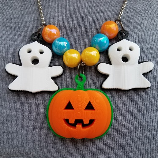 20191027_132441edit.jpg Download STL file Jack-O'-Lantern Pendant • 3D print object, abbymath