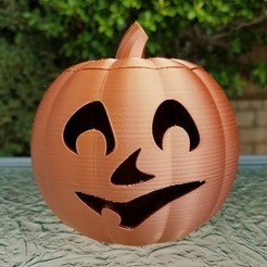20201022_102027 edit.jpg Download STL file Jack-O'-Lantern Smile Face • 3D printer design, abbymath