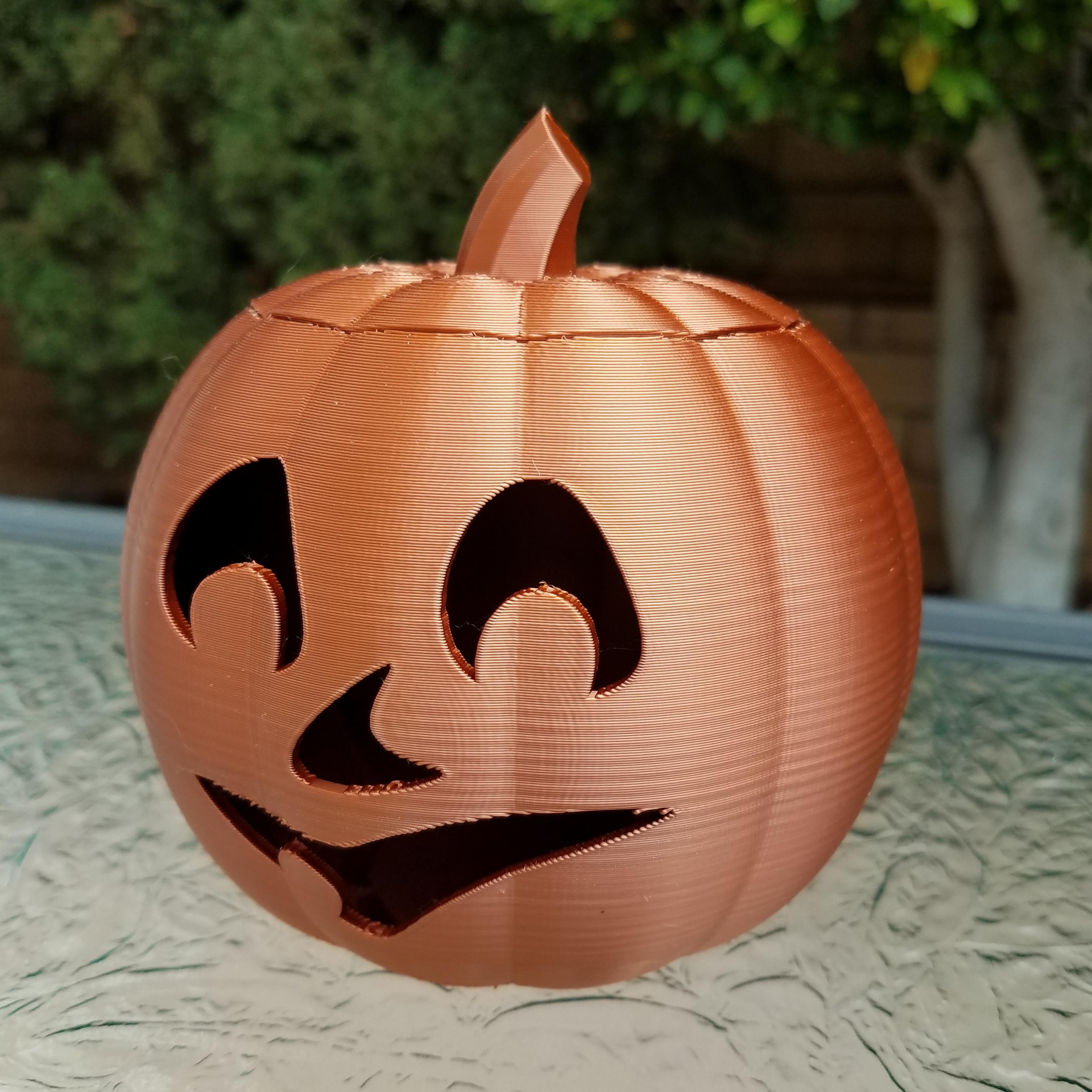 20201022_102113.jpg Download STL file Jack-O'-Lantern Smile Face • 3D printer design, abbymath