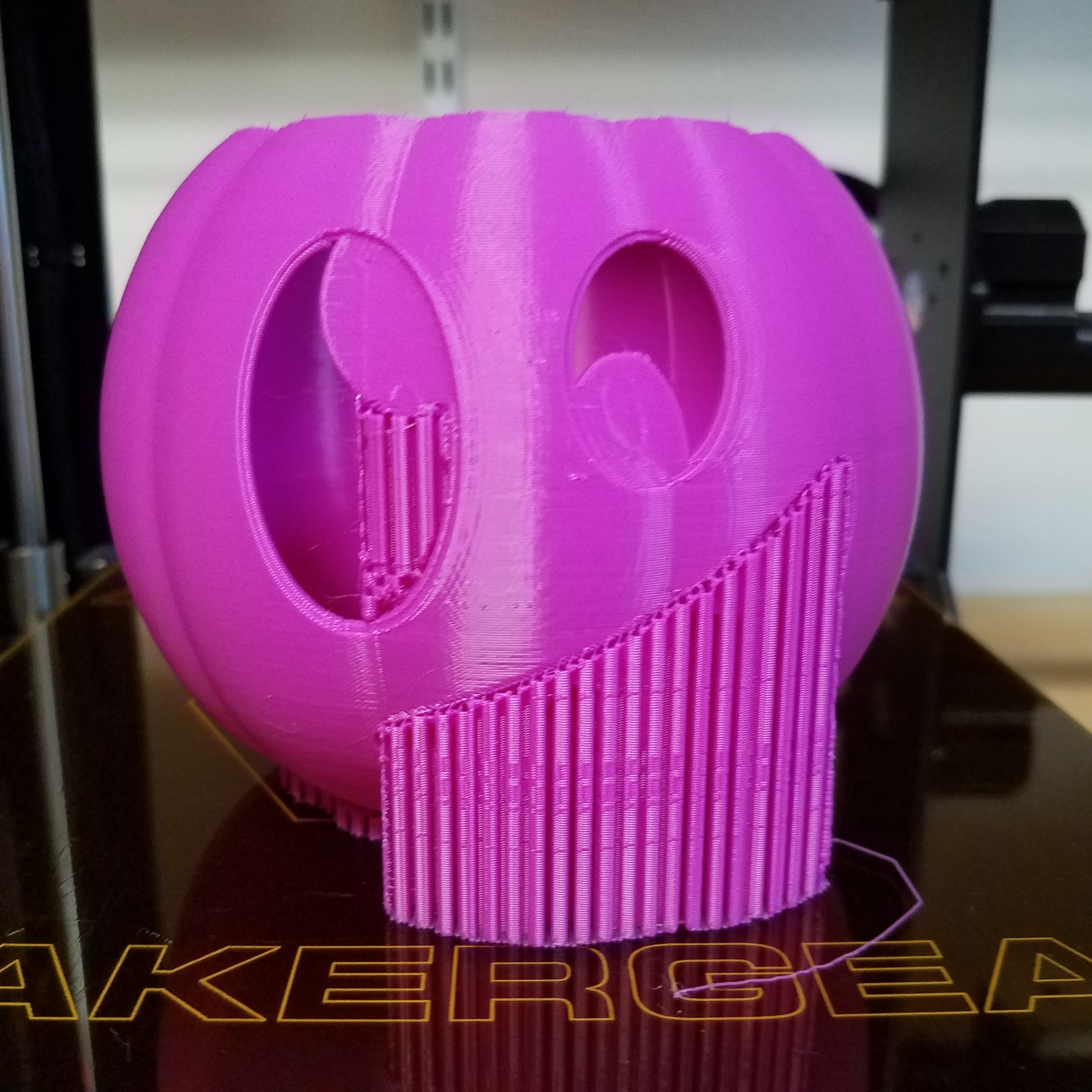 20201017_221948.jpg Download STL file Jack-O'-Lantern Silly Monster • 3D printing model, abbymath