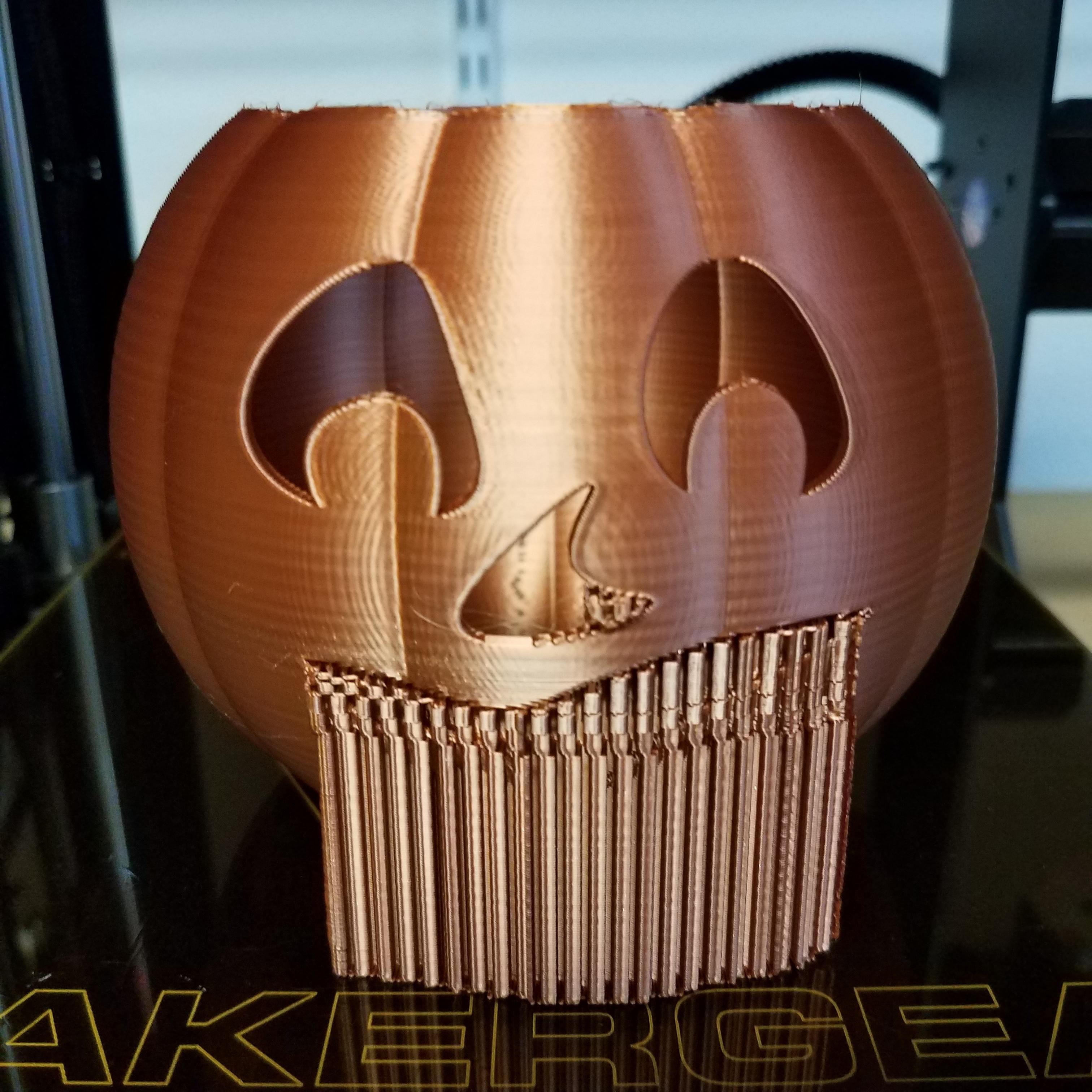 20201020_072924.jpg Download STL file Jack-O'-Lantern Smile Face • 3D printer design, abbymath