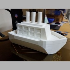 Download free 3D printer model Floating toy boat, abbymath