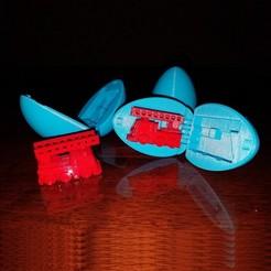 Download free 3D print files Surprise Egg #5 - Tiny Fire Truck, abbymath